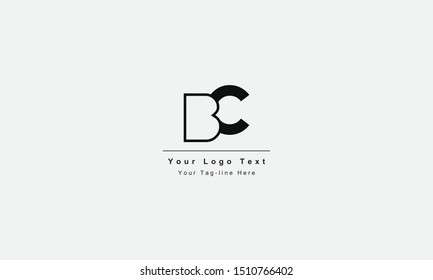 BC or CB letter logo. Unique attractive creative modern initial BC CB B C initial based letter icon logo