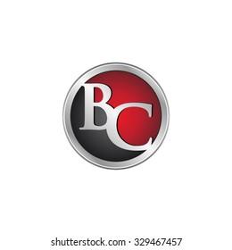 BC initial circle logo red