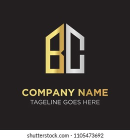 BC Initial Letter Logo