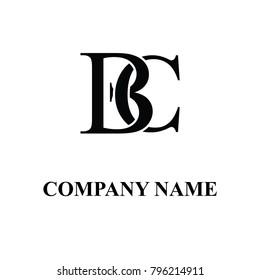 bc initial logo design