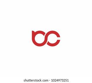 bc initial logo, icon, vector