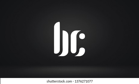 BC logo design template vector illustration