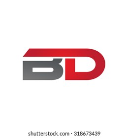 BD company group linked letter logo