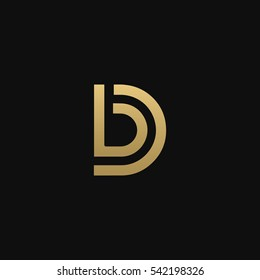 BD or DB logo icon