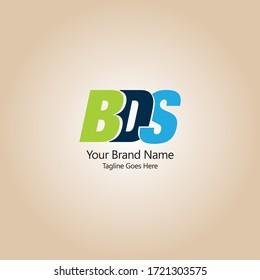 BDS vector logo design, BDS Creative logo design
