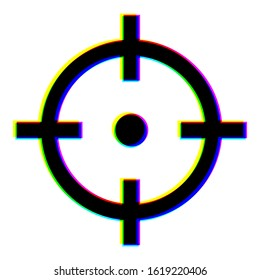 be on target stay focused - high accuracy aiming concept