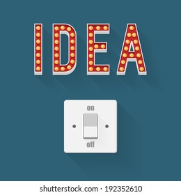 Be open, Idea concept