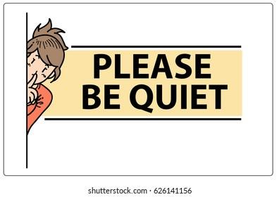 be quiet gesture のベクター画像素材 ロイヤリティフリー 693962053