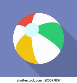 Beach Ball icon.