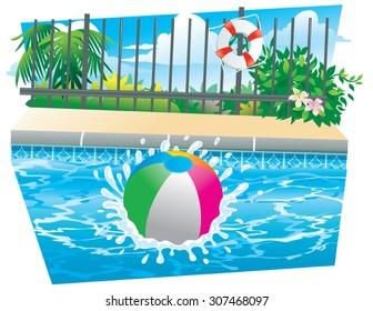 Beach Ball Splash