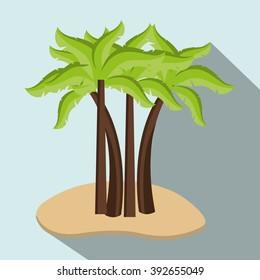 beach icon design