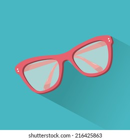 beach icon over blue background vector illustration