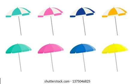 Beach parasol variation set