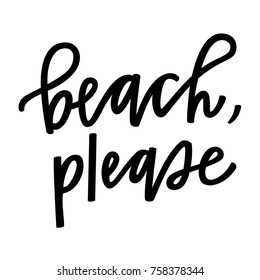 Beach Please Images Stock Photos Vectors Shutterstock