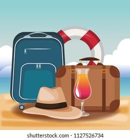 Beach and summer