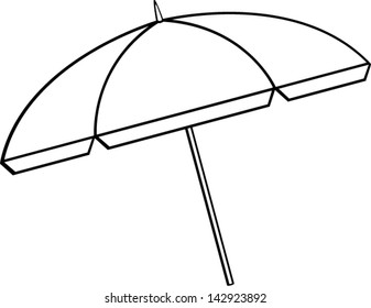 fbc7ad5a35 White Beach Umbrella Images, Stock Photos & Vectors | Shutterstock