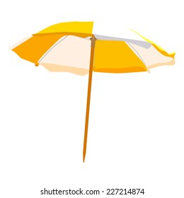 Beach umbrella, beach umbrella isolated, beach umbrella vector