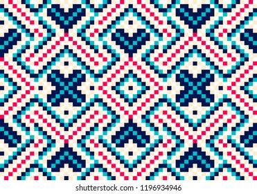 Beading design, tribal design, tribal beads, bead necklace, african beads, ethnic seamless pattern, embroidery cross, squares, diamonds, chevrons. Beads, bracelet, ribbon, lace, bead weaving.