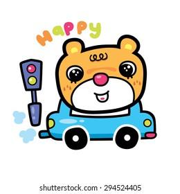 Bear  cartoons character cartoon