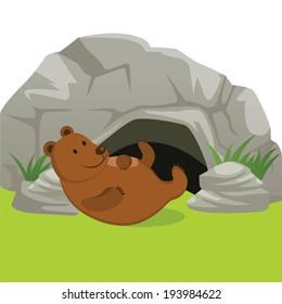 Bear Cave Images Stock Photos Vectors Shutterstock