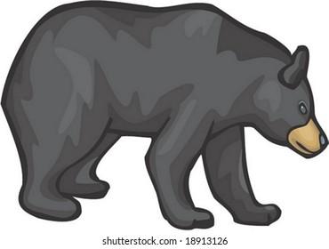black bear cartoon images stock photos vectors shutterstock rh shutterstock com blackbeard cartoon blackbeard cartoon