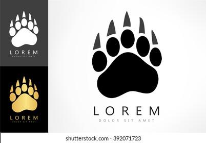bear footprint logo