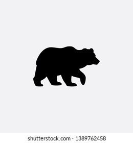 bear icon sign signifier vector