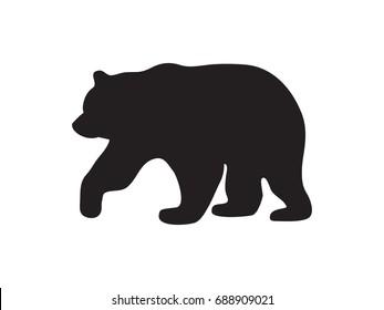 bear, icon, vector illustration eps10