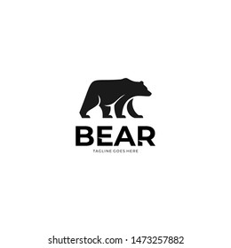 Bear logo design for your projects