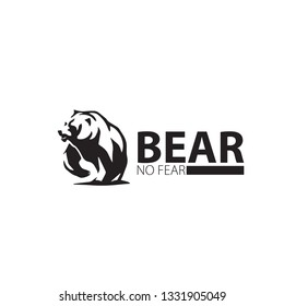 Bear Logo - Mascot - Template Design Elements