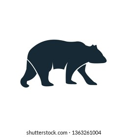 Bear logo template