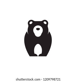 Bear logo vector concept. Bear logo template