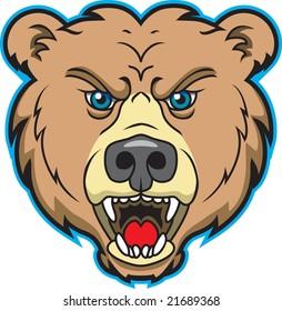 Bear Sports Mascot