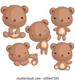Bear Vector Set