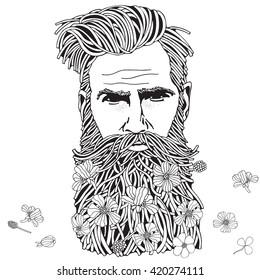 Beard Color Images, Stock Photos & Vectors | Shutterstock