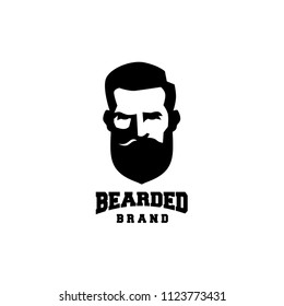 Bearded Logo Brand
