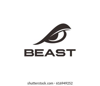 Beast Eye Logo