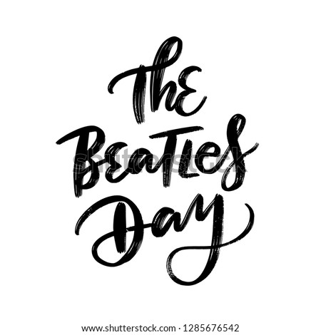 THE BEATLES DAY VECTOR