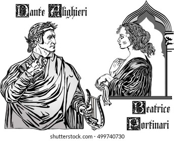 Beatrice was Danteâ??s true love: she was a real person, and Dante decided to use her as an important character in his masterpiece, The Divine Comedy.