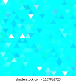 Beautiful abstract background multicolored simple seamless triangle.