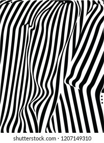 Beautiful abstract black white decorative flag waving vector pattern decorative design for many creative ideas