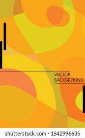 Beautiful abstract spots vector illustration of grunge texture