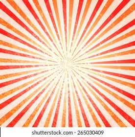 Beautiful abstract starburst background. Colorful ray abstract background. Circus background for your show