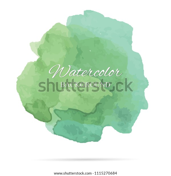 beautiful abstract watercolor art hand paint on white background,brush textures for logo.There is a place for text.Perfect stroke design for headline.luxury boutique Illustrations.