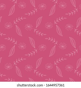 Beautiful Aleiah Flower Seamless Pattern Collection