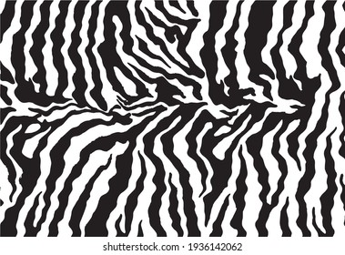 beautiful animal skin pattern vector