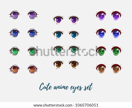 Beautiful Anime Eyes Collection
