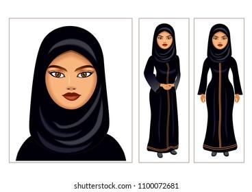A beautiful Arabian woman