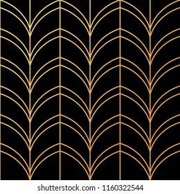 Beautiful Art Deco pattern vector