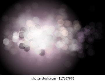 Beautiful background with many lights. Vector